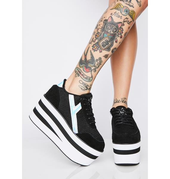 Y.R.U. Karazii II Holographic Platform Sneakers