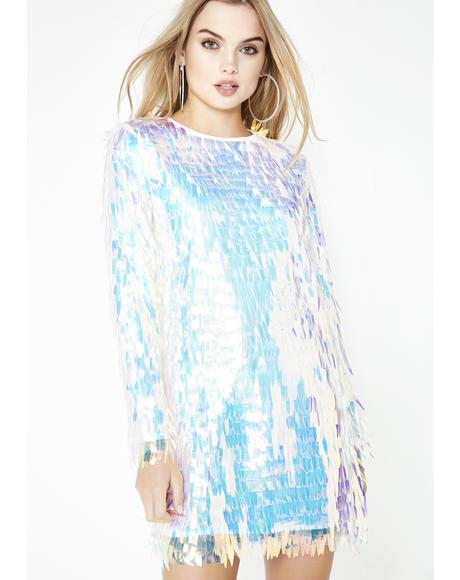 Sparkling Bright Sequin Dress