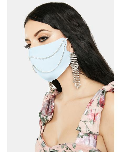 Sky Bling-cognito Chain Face Mask
