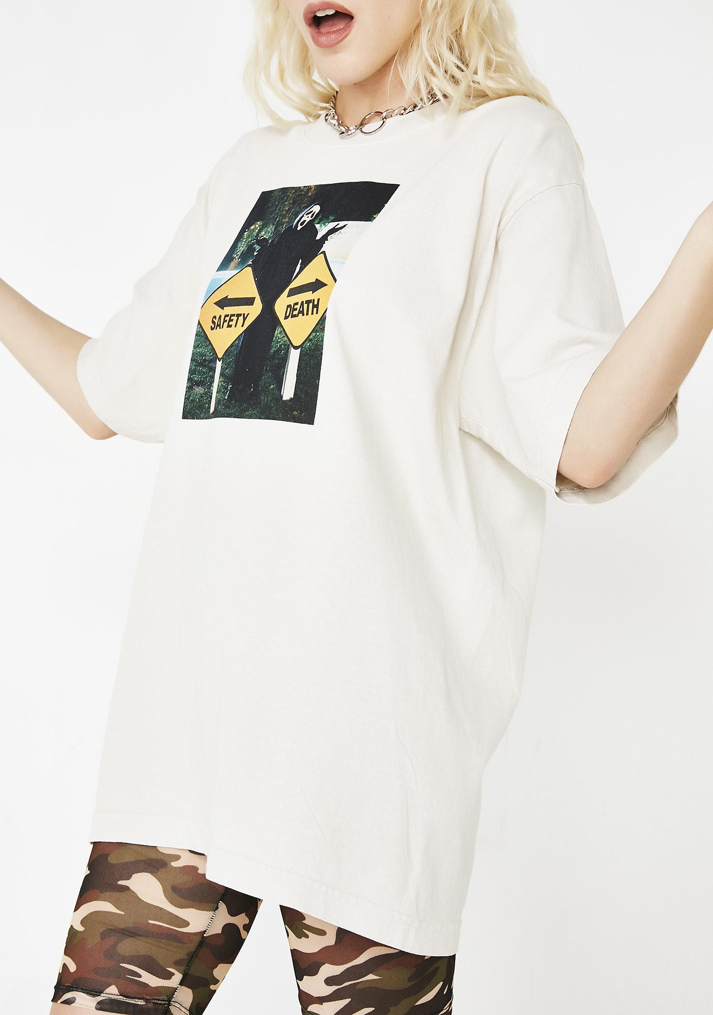 Dumbgood Safety Or Death Graphic Tee
