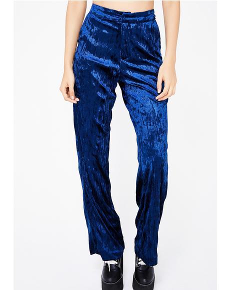 Feel The Groove Velvet Pants