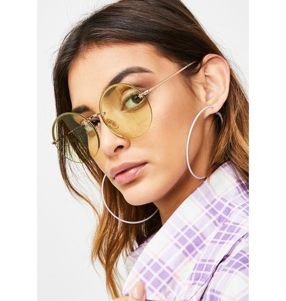 Sunny Quit Buggin' Me Round Sunglasses