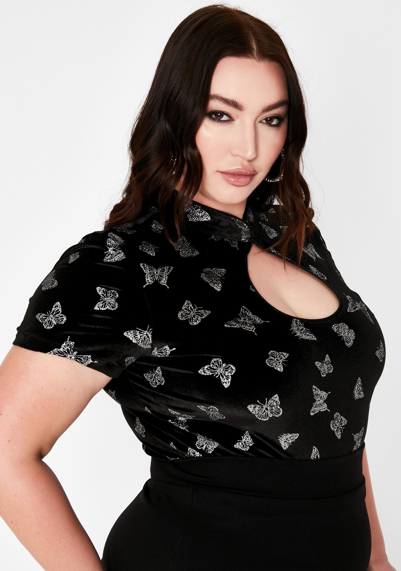 Forever Cute Complex Keyhole Top