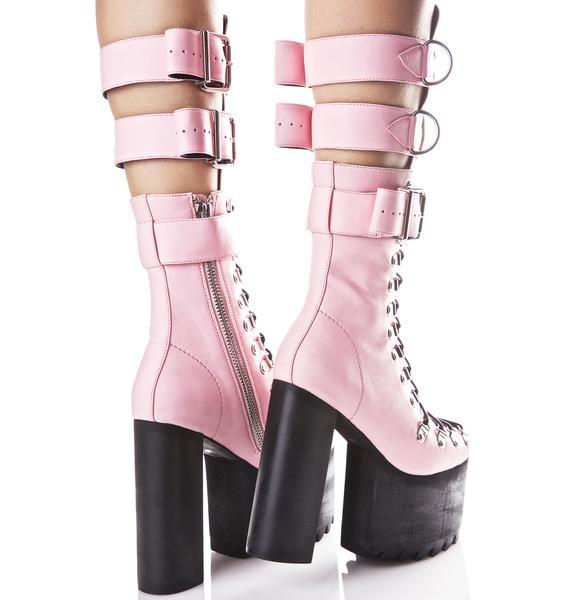 Current Mood Love Defender Boots Dolls Kill