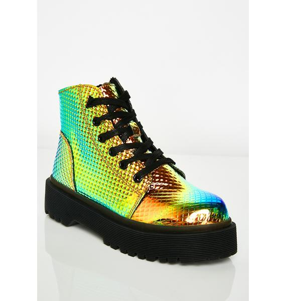 Y.R.U. Slayr Pyramid Boots