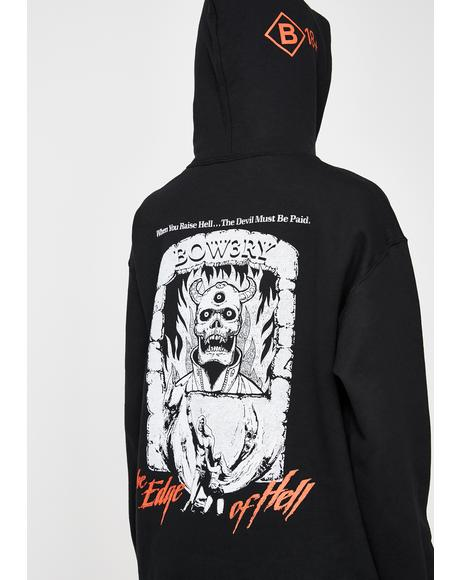 Edge Of Hell Graphic Hoodie