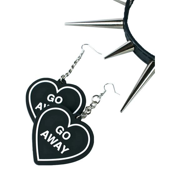Witch Worldwide Go Away Earrings