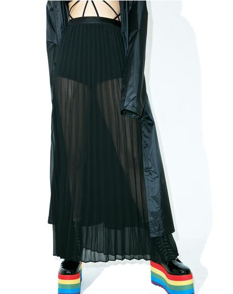 Sheer Genius Maxi Skirt