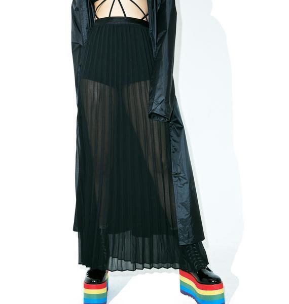 Sheer Genius Maxi Skirt