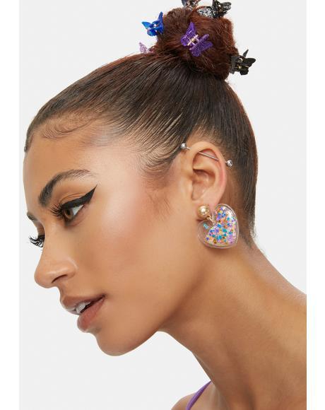 Party Hearty Confetti Drop Earrings