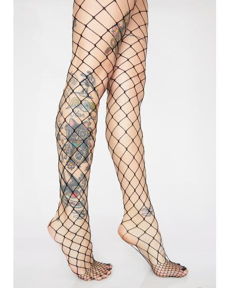 Little Rebels Fishnet Tights
