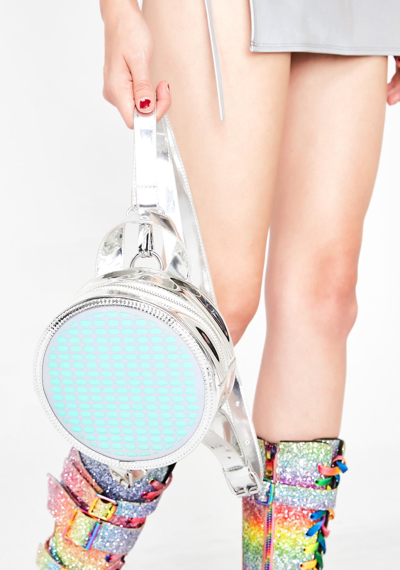 Club Exx Elektro Portal Sound Reactive Backpack