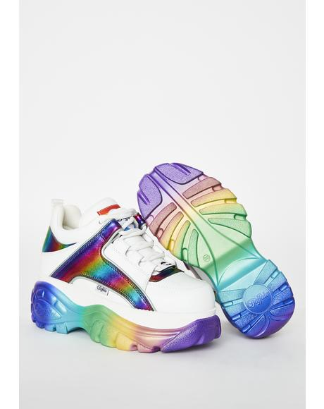 Rainbow Classic Low Leather Sneakers