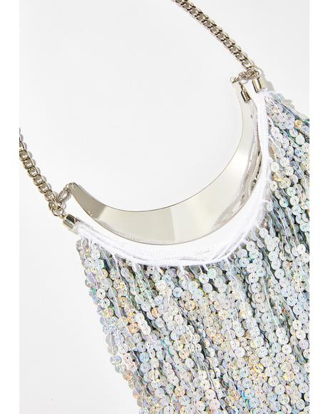 Chasin' Waterfallz Long Sequin Necklace