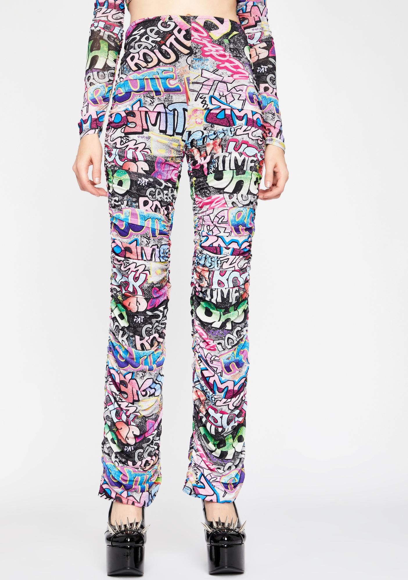 Urban Melody Ruched Pants