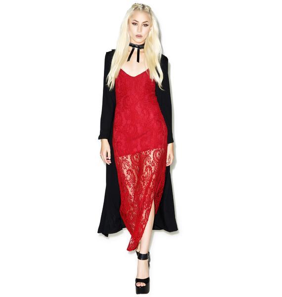 Cha Cha Lace Maxi Dress