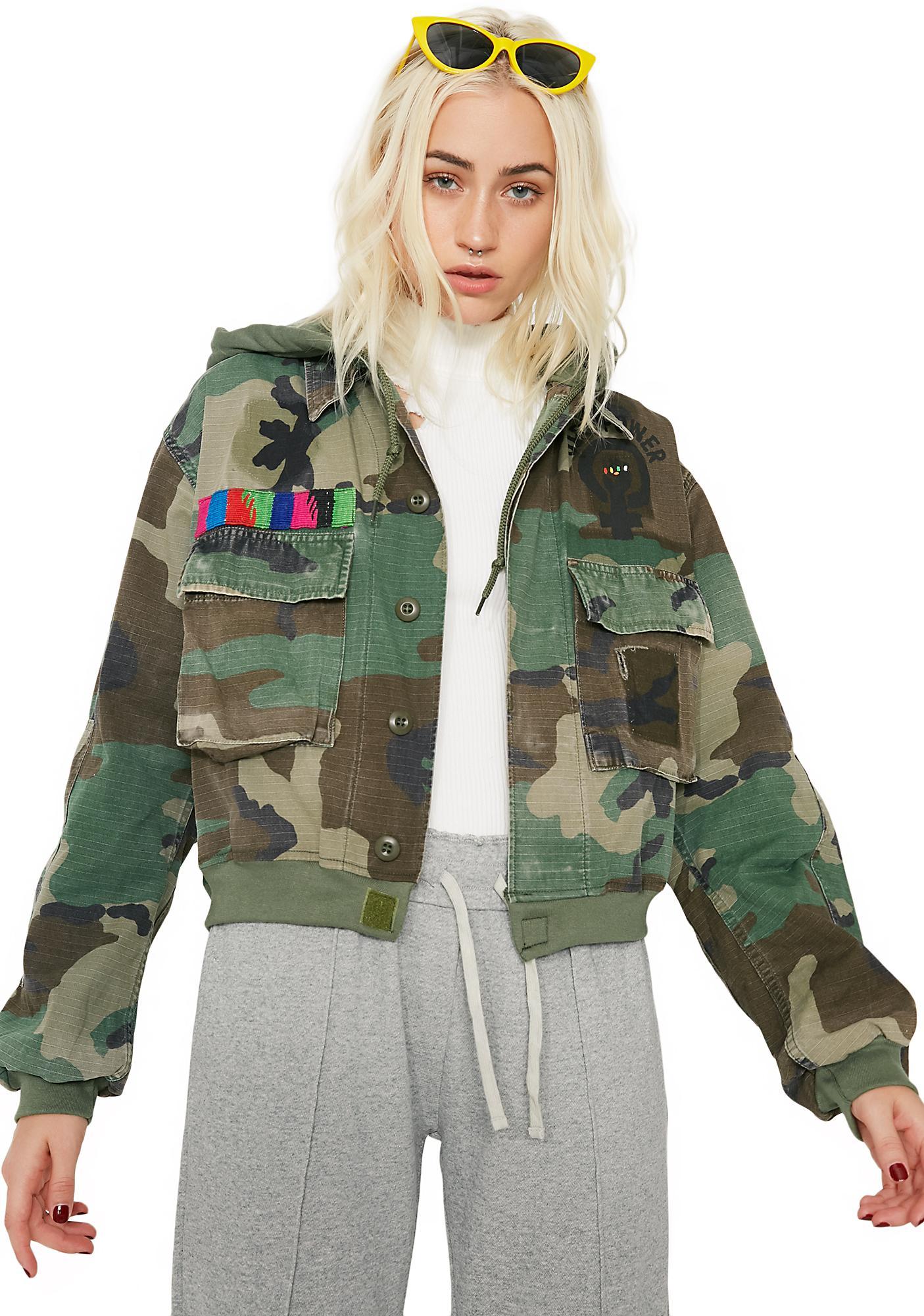 Cross Colours Girl Power M65 Jacket
