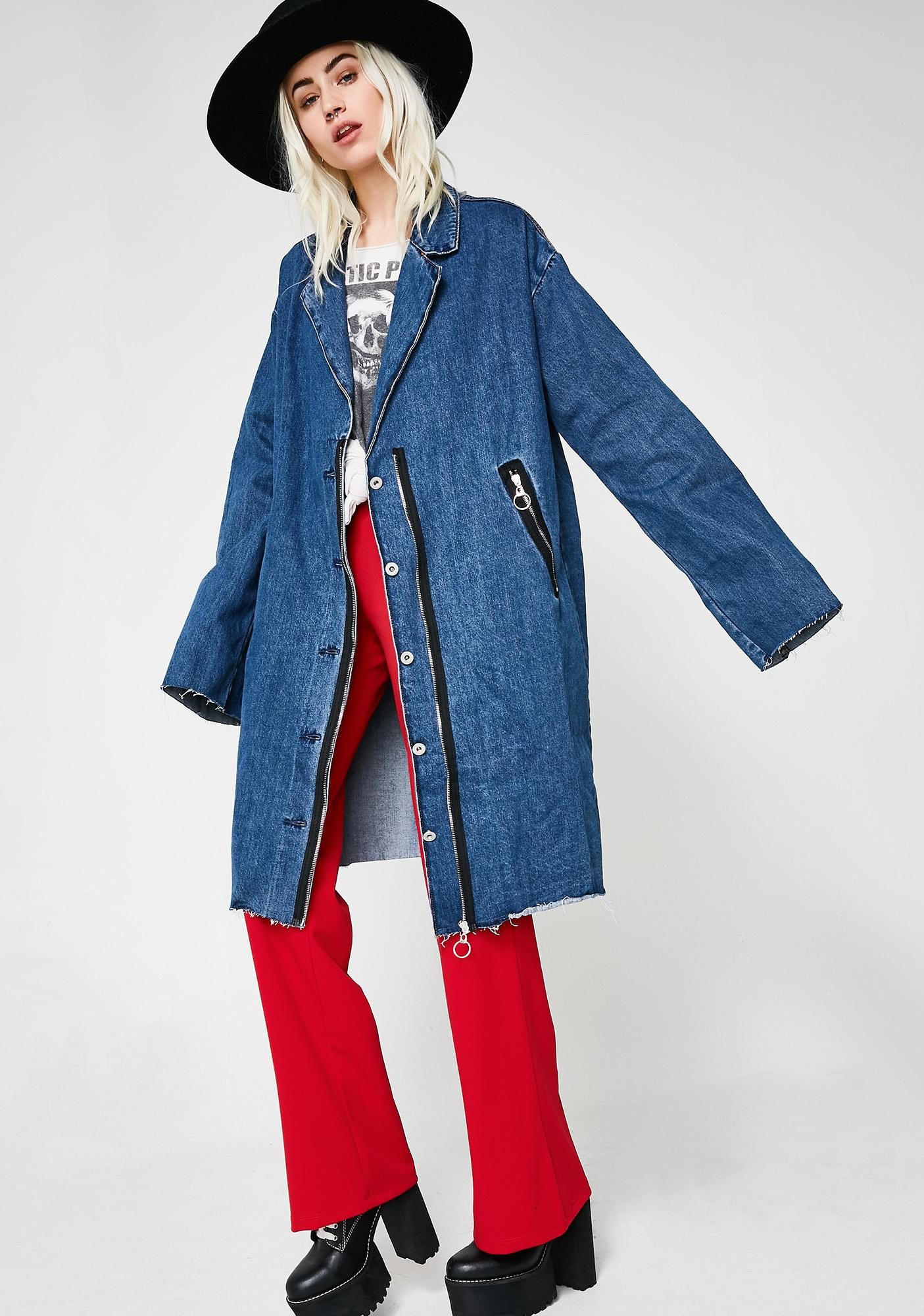 Stop The Time Denim Jacket