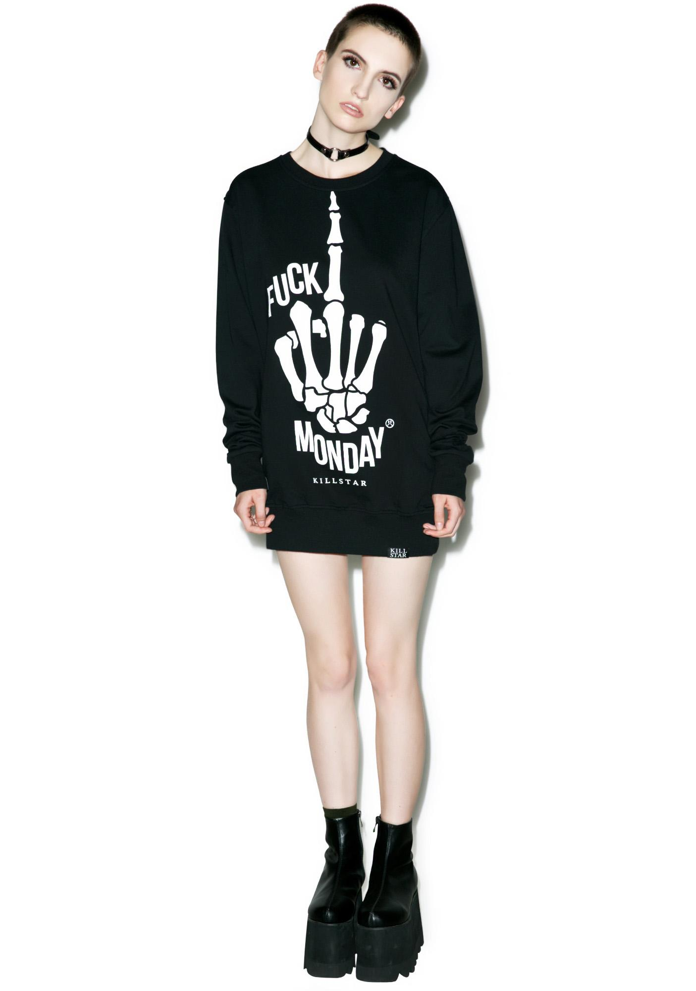Killstar Monday Sweatshirt