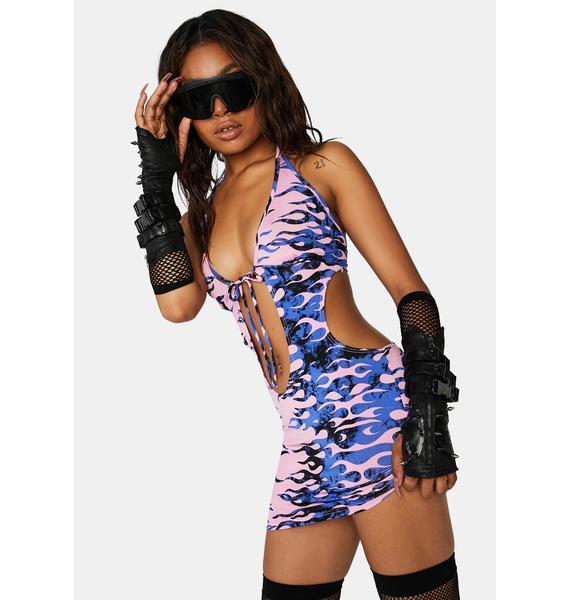 Fiery Sidecar Sweetie Mini Dress