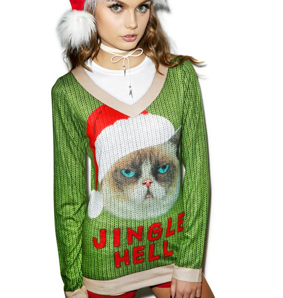 Jingle Hell Sweater Tee