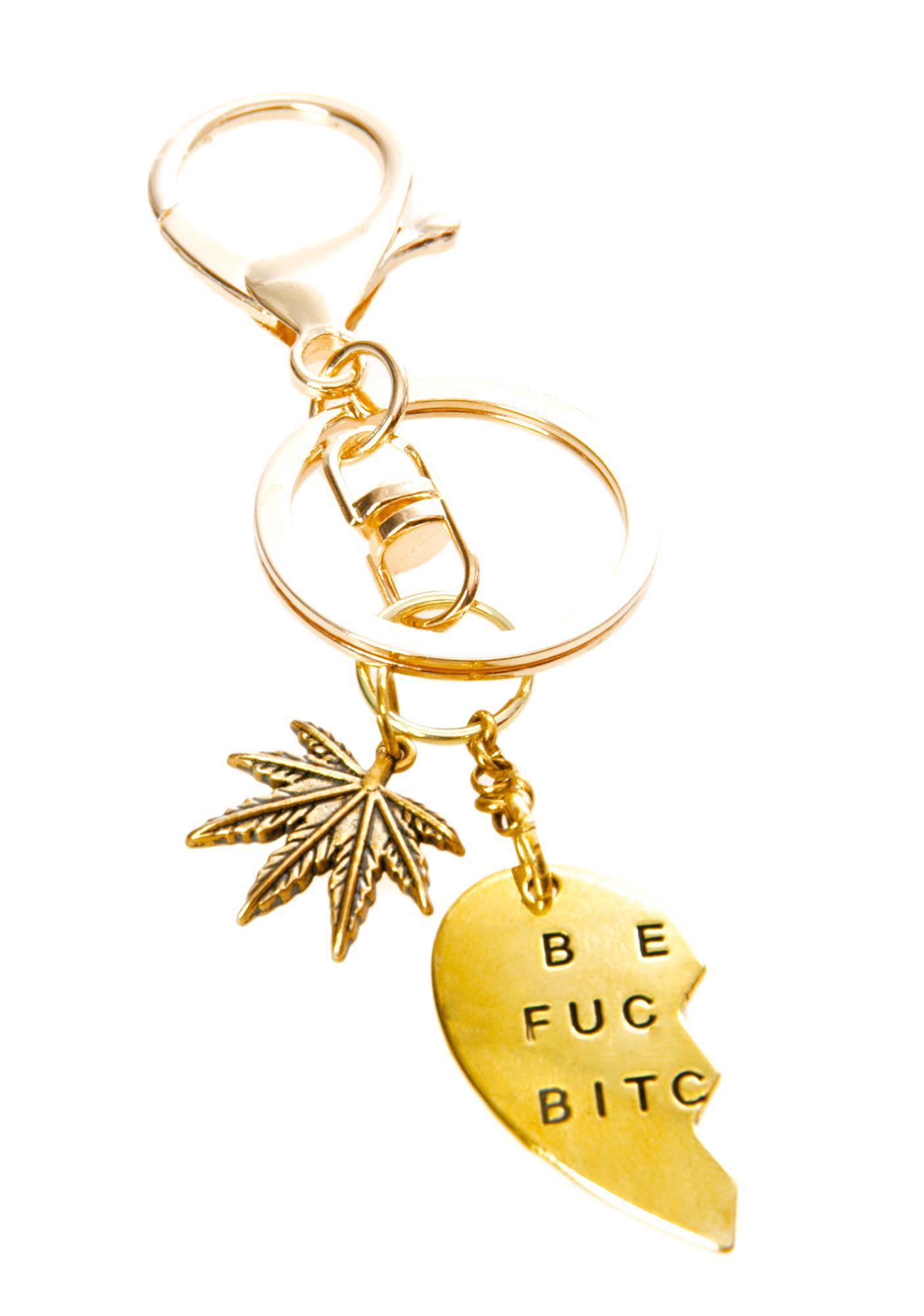 Blunted Objects Best Blazed Keychain Set