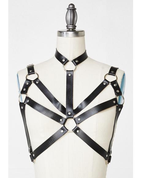 Angel Of Death Bra Harness