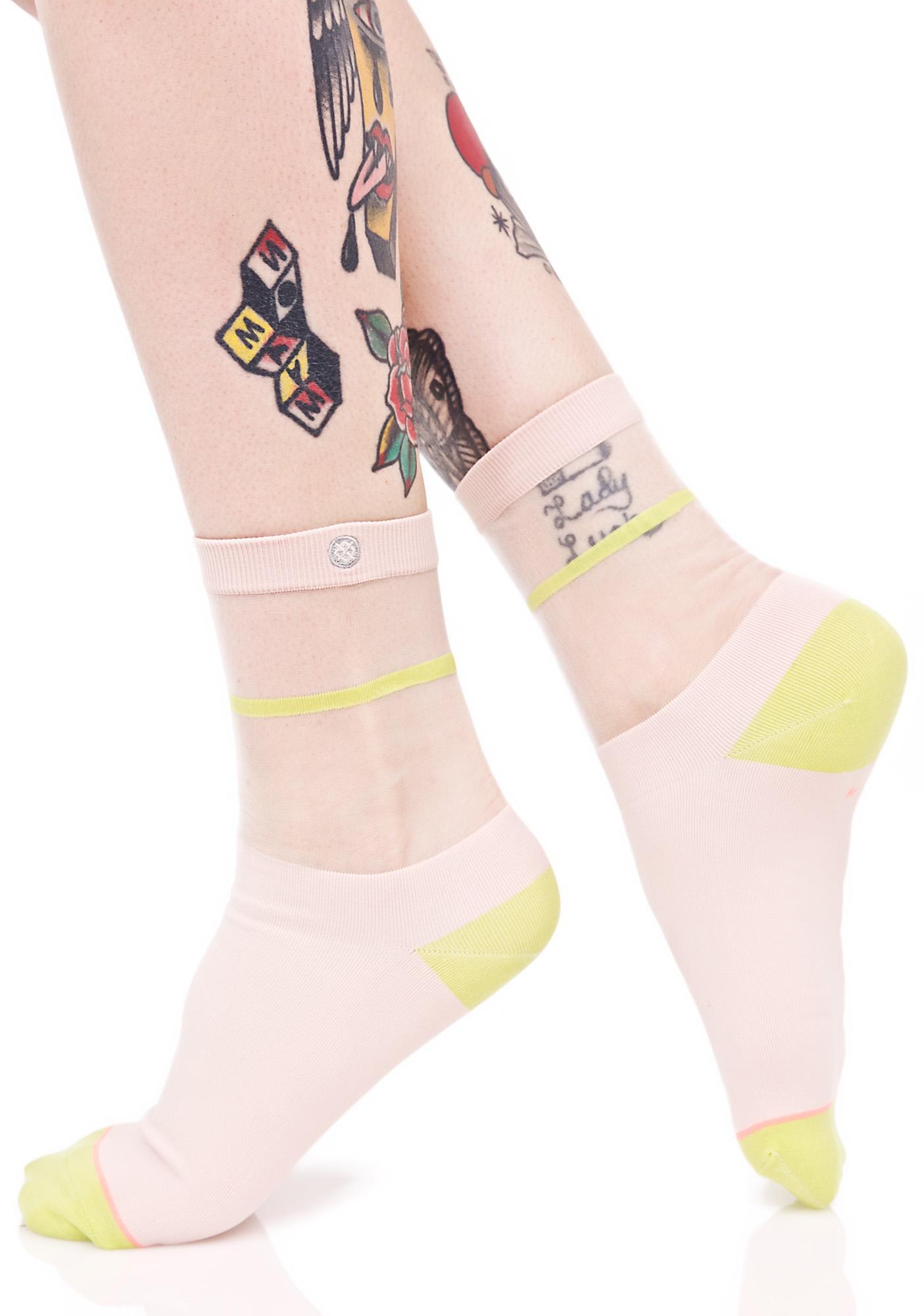 Stance Foxy Sheer Anklet Sock