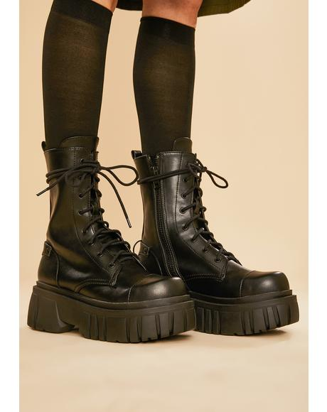 Everyone's A Critic Combat Boots