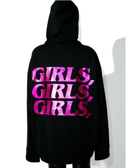 Girls Girls Girls Hoodie
