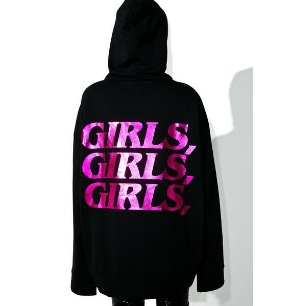 Brashy Girls Girls Girls Hoodie