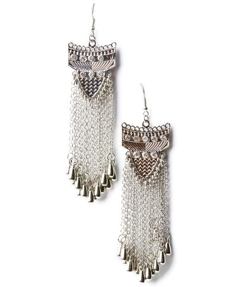 So Flow Fringe Earrings