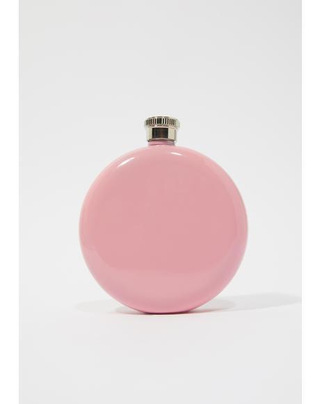 Prefer This Poison Round Flask