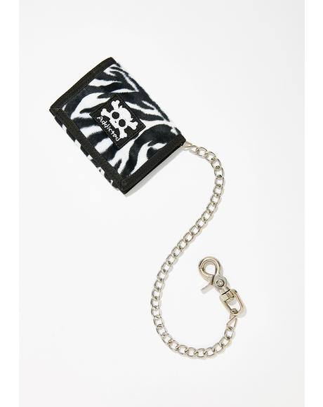 Teenage Weirdo Wallet N' Chain