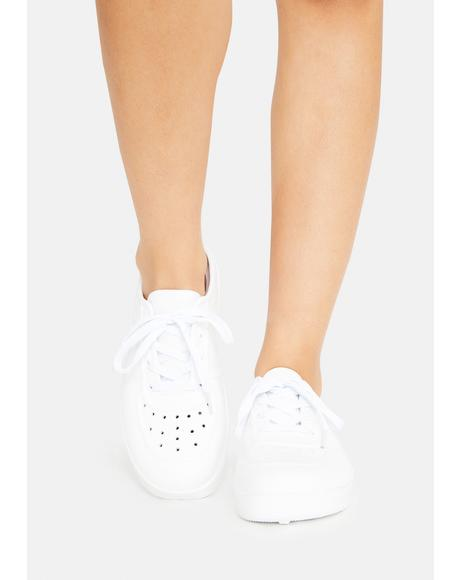 Ivory What I Want Slip On Sneakers