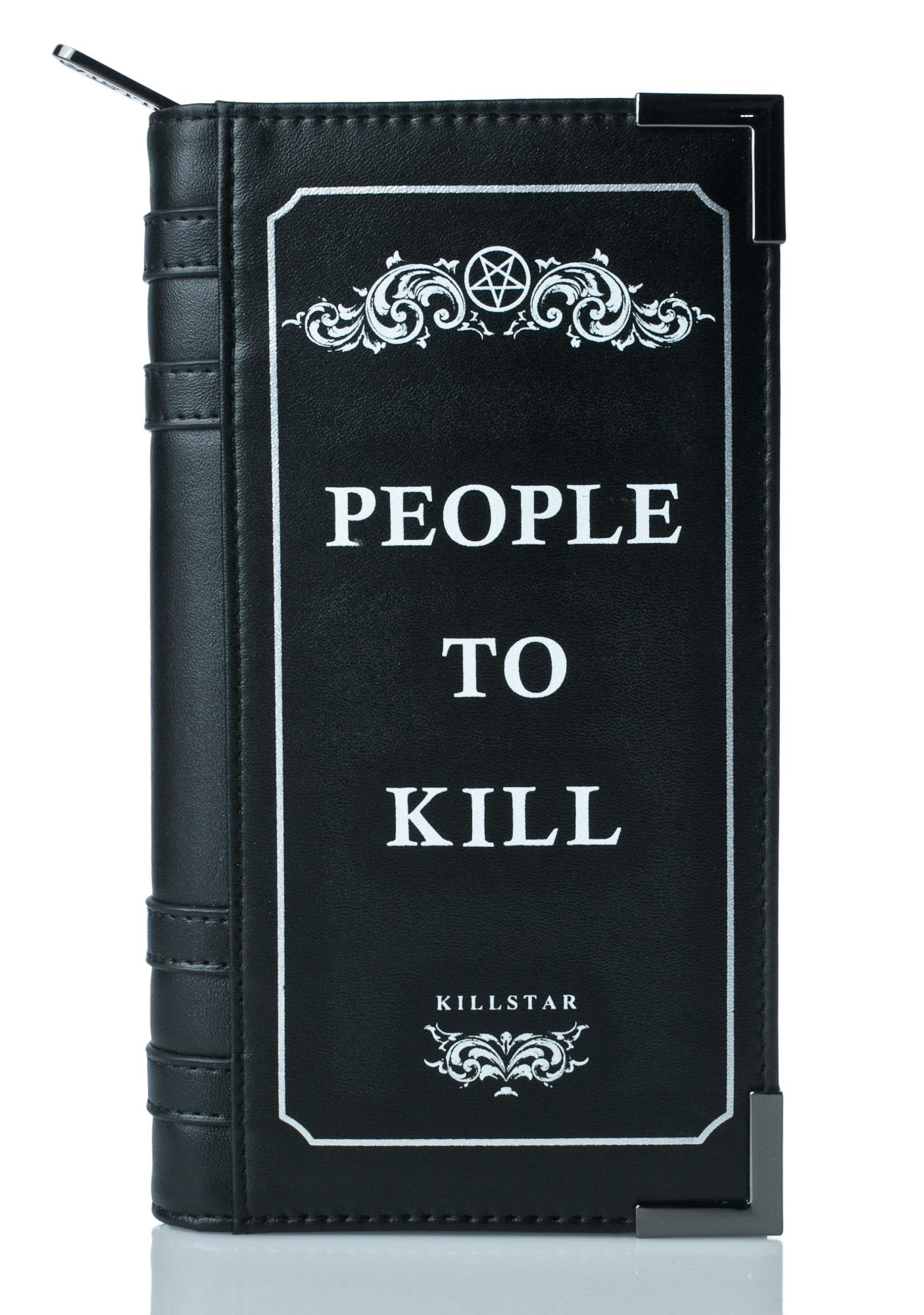 Killstar Kill List Book Wallet