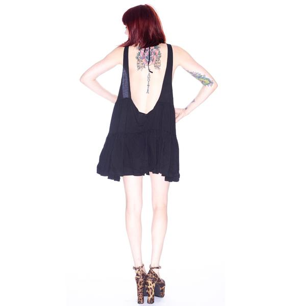 One Teaspoon Black Evil Dress