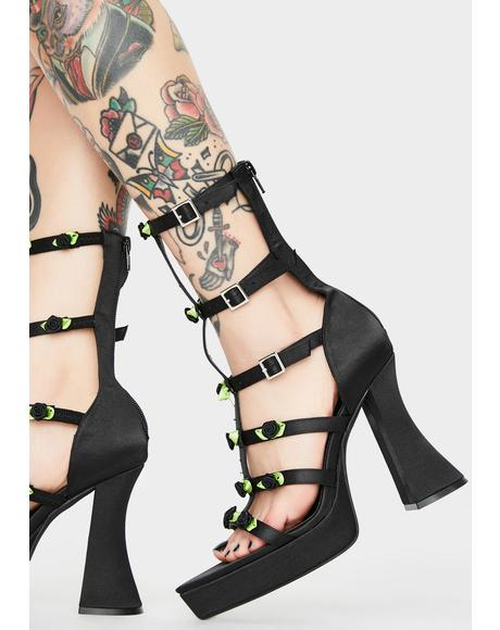 Softcore Thorn Caged Heels