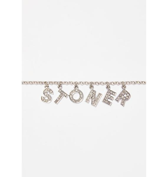 Blunted Objects Stoner Spice Rhinestone Necklace