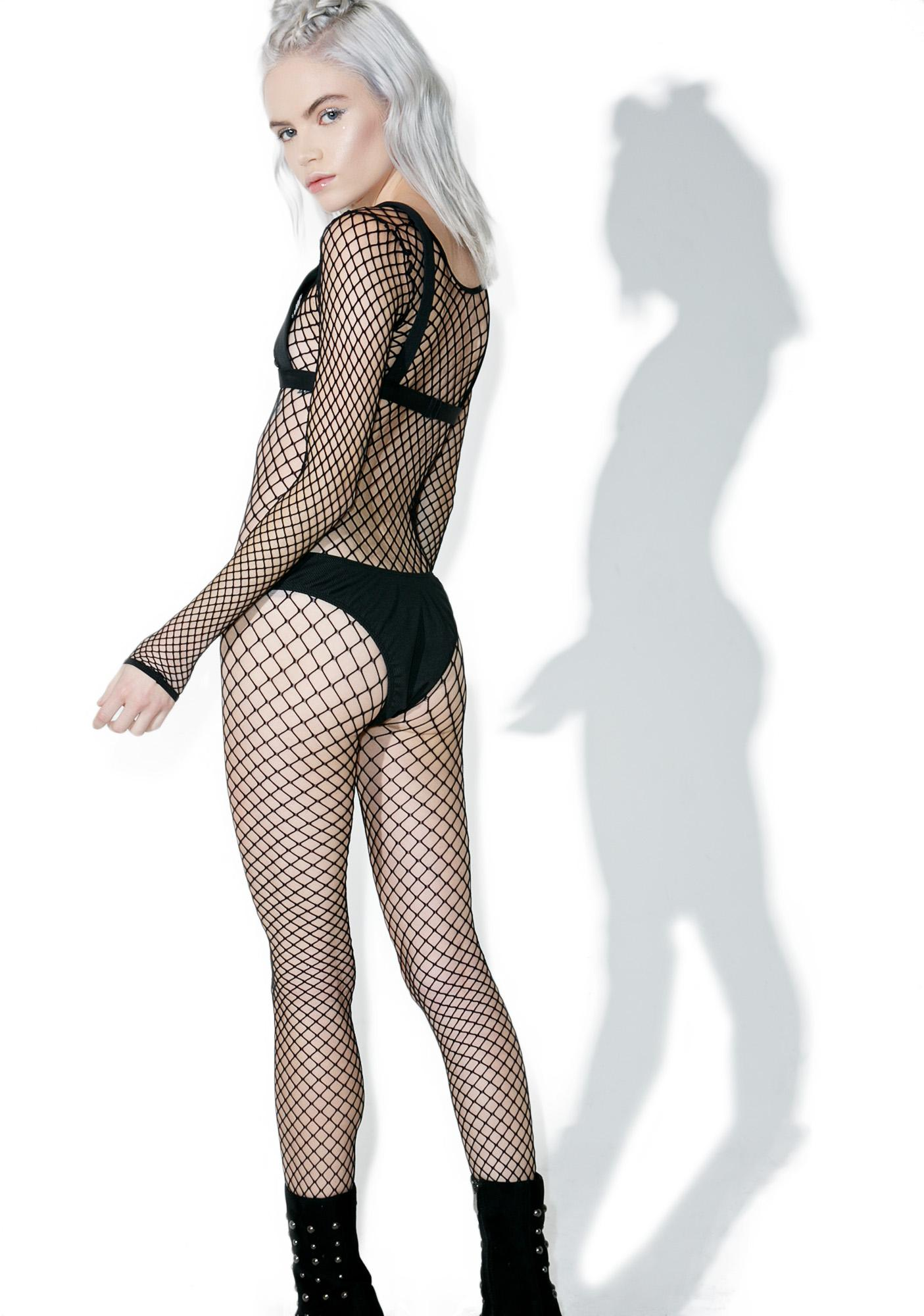 Lynda leigh hot pics fetish fishnet bodystocking latex boots