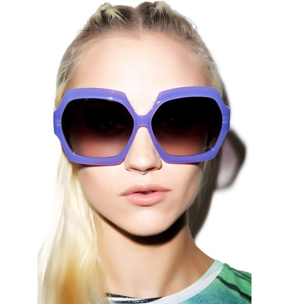 Wildfox Couture Riviera Frame Sunglasses