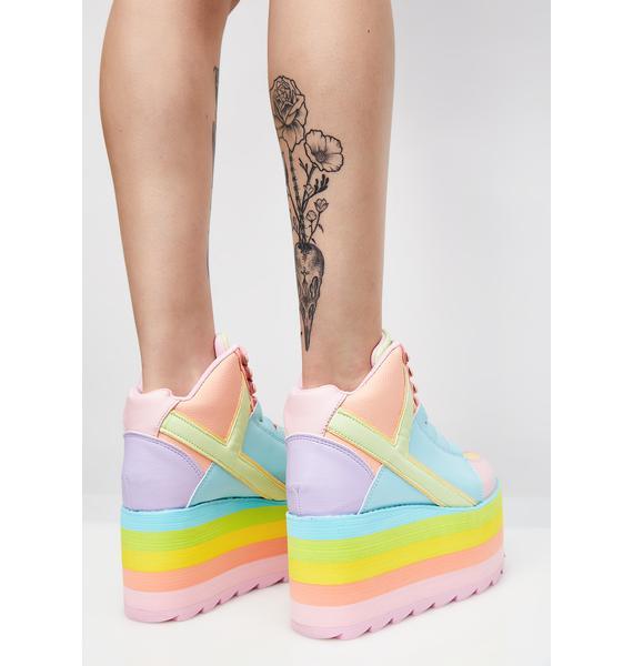 Y.R.U. (Pre)Skoolin' U Platform Qozmo Sneakers
