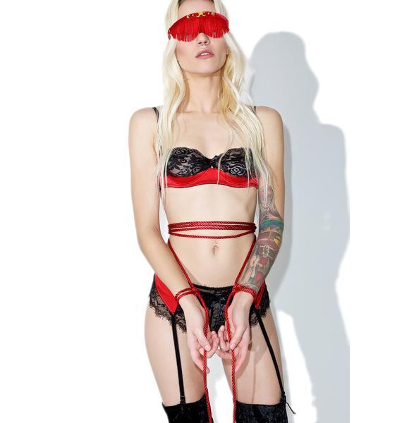 Fraulein Kink Rouge Blindfold