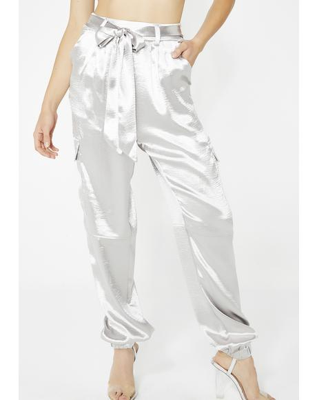Platinum Flossin' Boss Cargo Pants