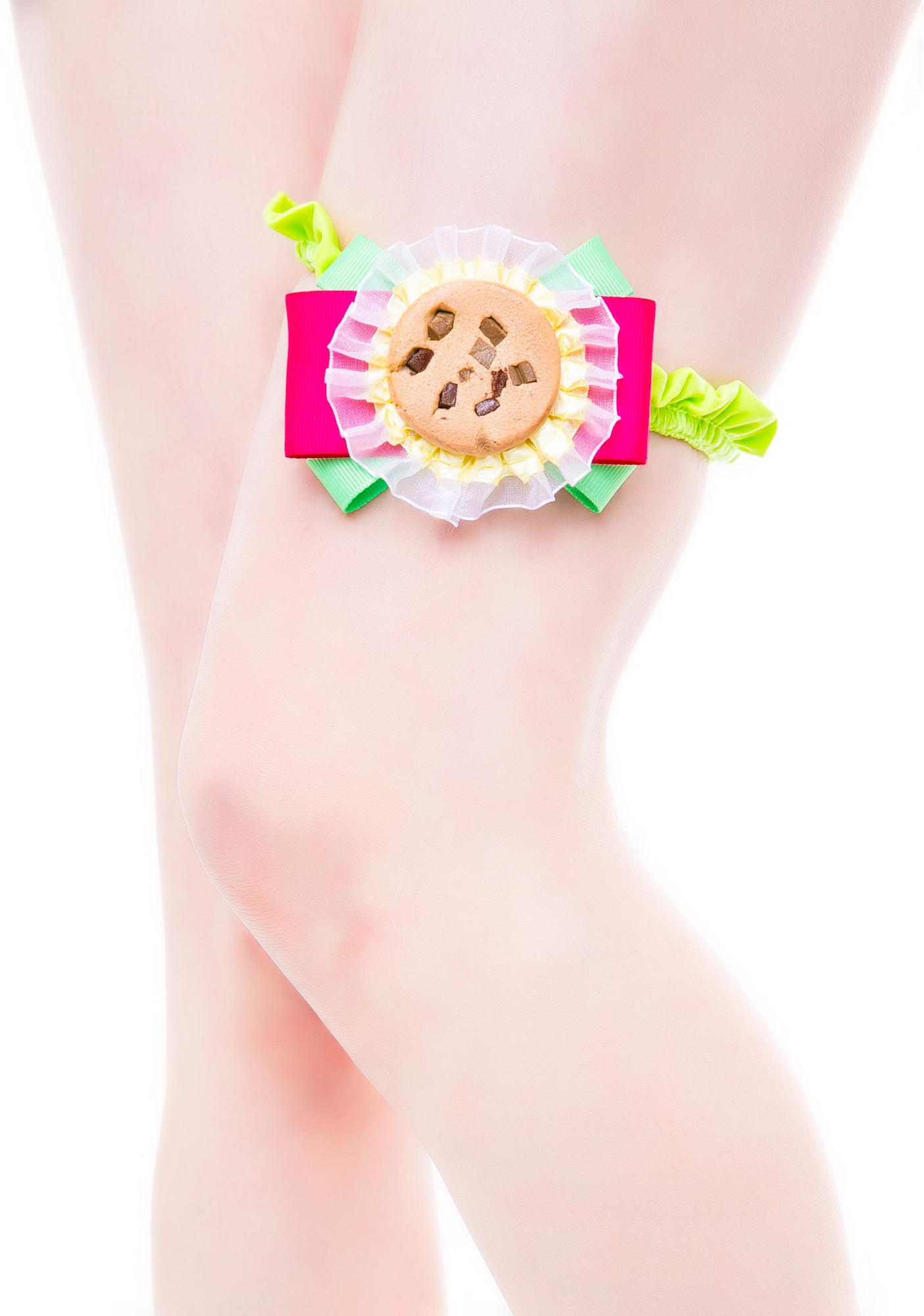 J Valentine Cookie Monster Garter