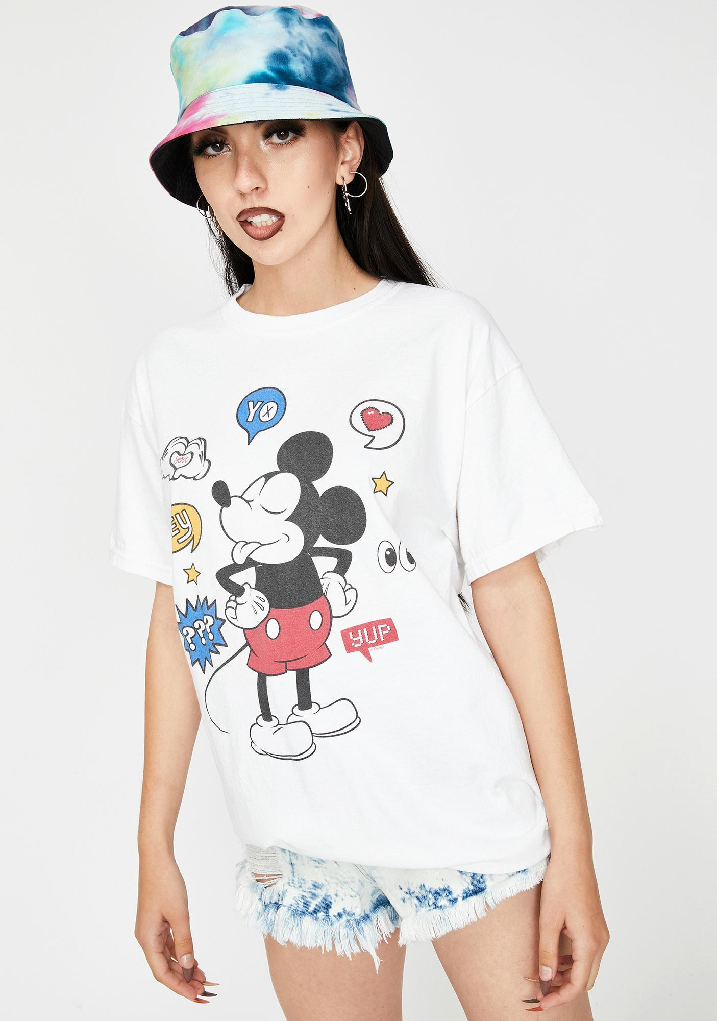Homage Yo Mickey Graphic Tee