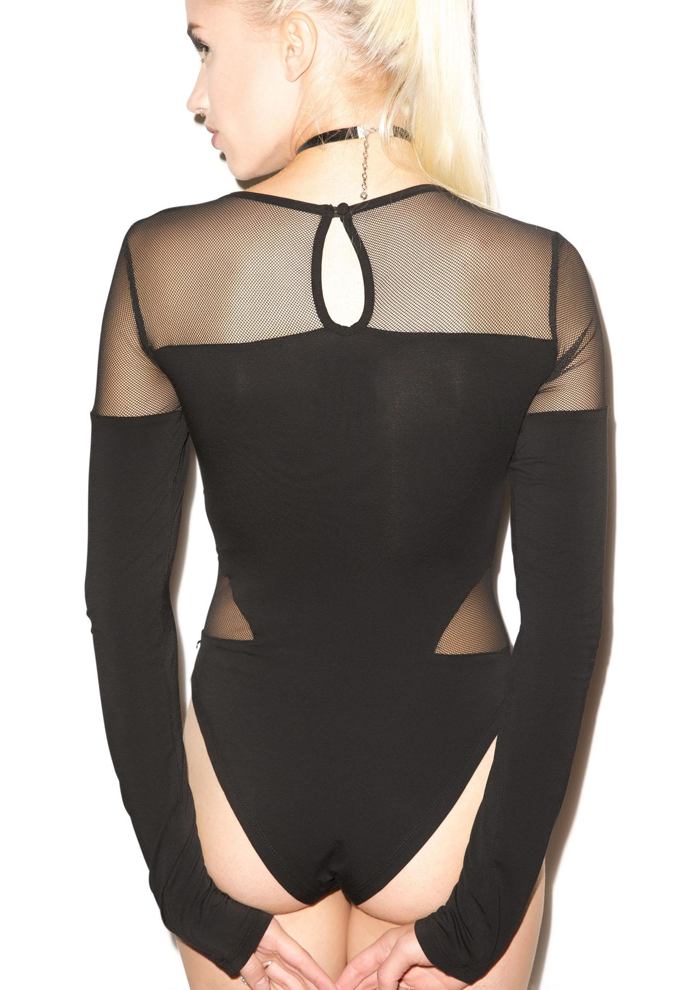 One Teaspoon Blondie Long Sleeve Bodysuit