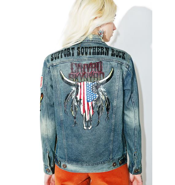 Trunk Ltd.  Lynyrd Skynyrd Jean Jacket