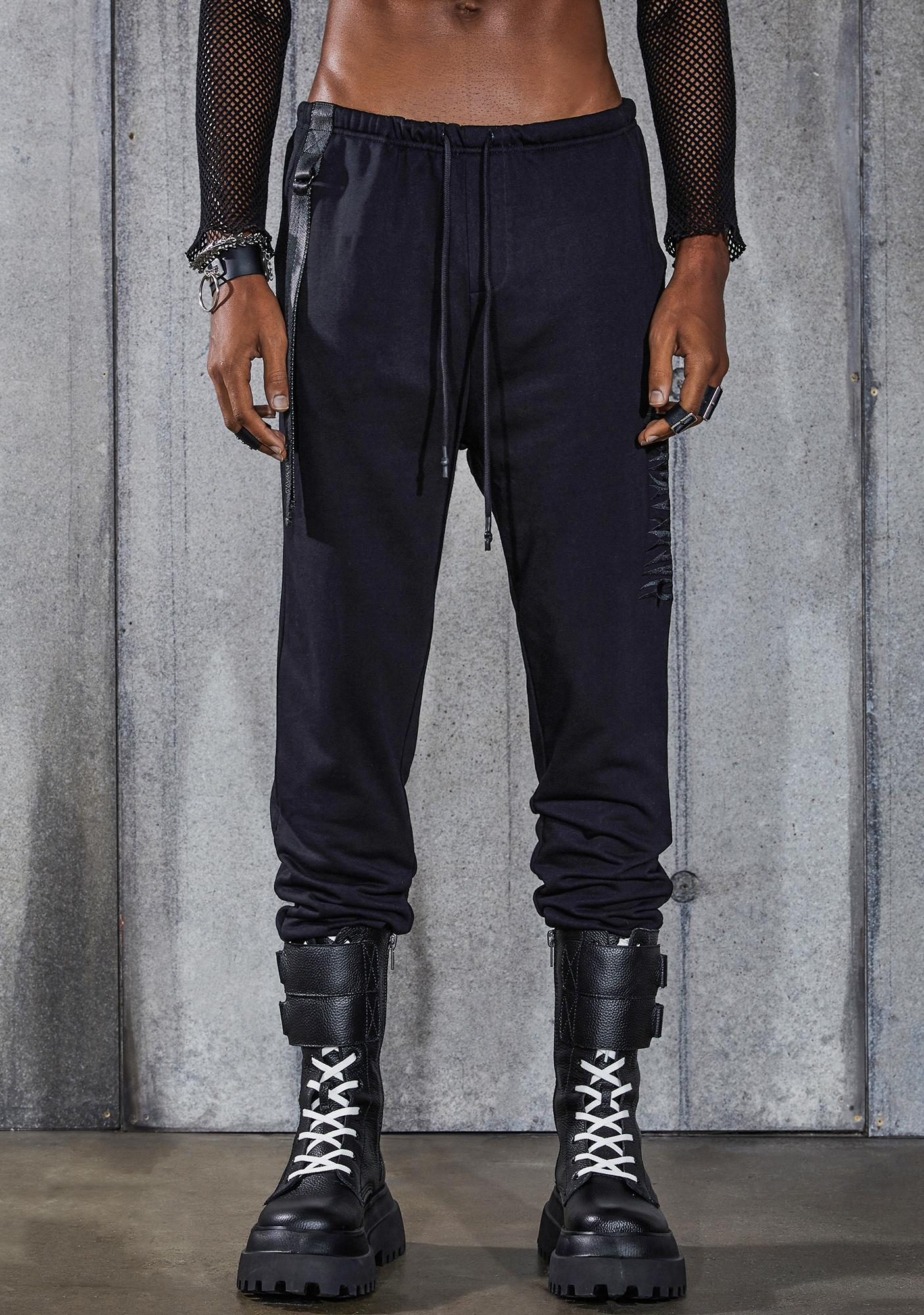 DARKER WAVS Snare French Terry Logo Sweatpants