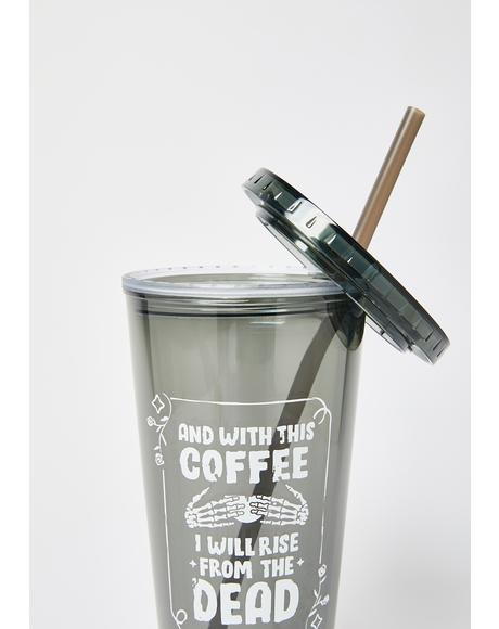 With This Coffee 20oz Tumbler